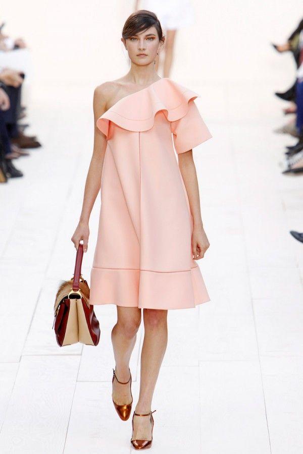 Spring Fashion 2013 Trend Off The Shoulder Chloe
