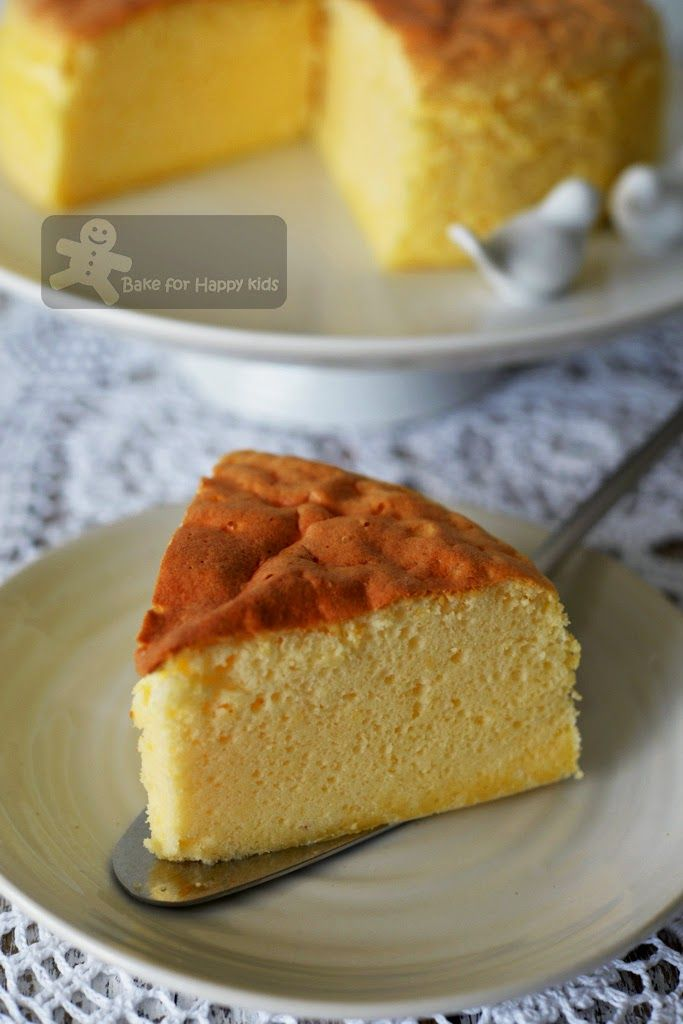 fail proof cotton soft Japanese soufflé cheesecake