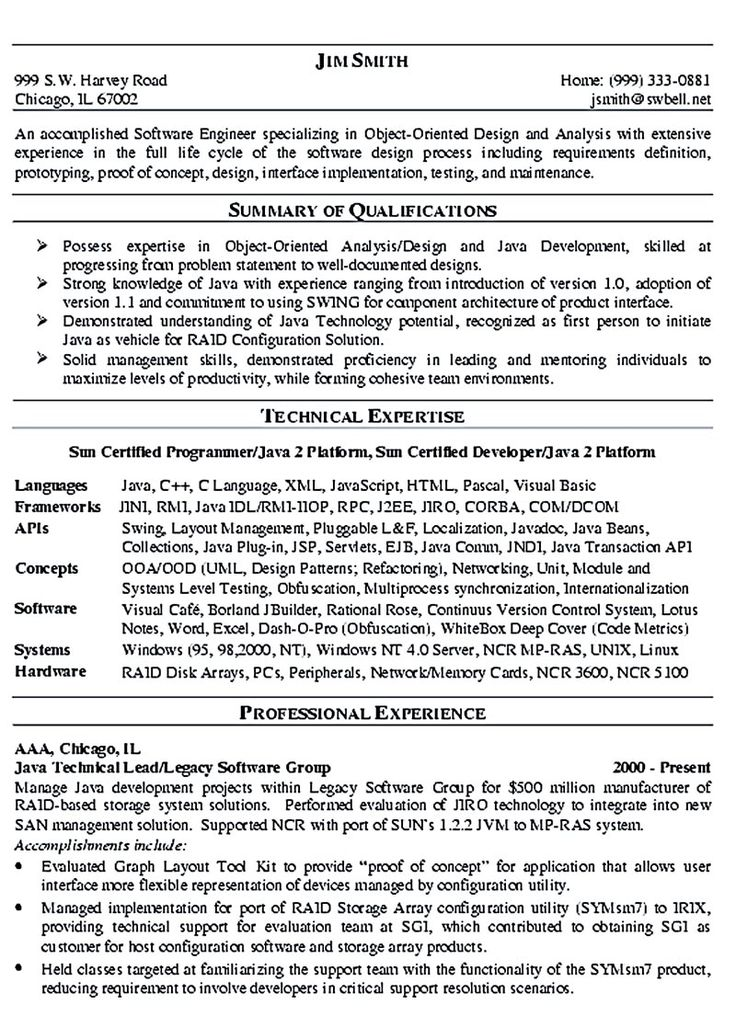 Programmer Resumes Click Here To Download This Web Developer