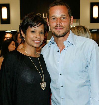 Justin Chambers & wife Keisha