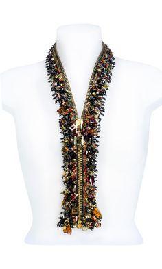Jewelry Design - Zipper with Swarovski Crystal - Fire Mountain Gems and Beads