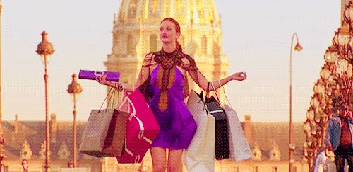 """Your goal in life is to one day shop like this. 