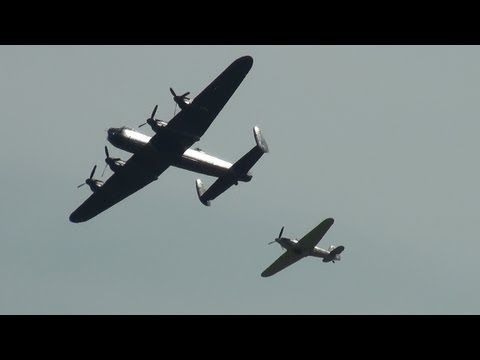 ▶ The Battle of Britain Memorial Flight at Flying Legends 14th July 2013 - YouTube