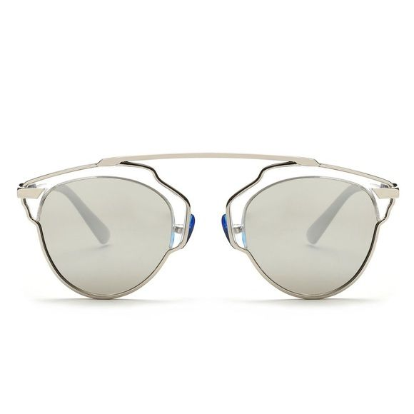 "ONE LEFT! Alloy Frame Polarized Sunglasses/White Super rad sunglasses, perfect for summer 2016. Incredibly well made, sturdy glasses. Long bridge in center connects each lens with for an incredibly interesting, chic look. Very dark shading from in the inside looking out, so you can stare away! Each pair comes with a dust cloth. White/silver color.  PRICE FIRM unless bundled. Bundle discount is 15% off 2 or more items!  Front Width: 5.35"" Single Frame Width: 1.88"" Single Frame Length: 1.65""…"