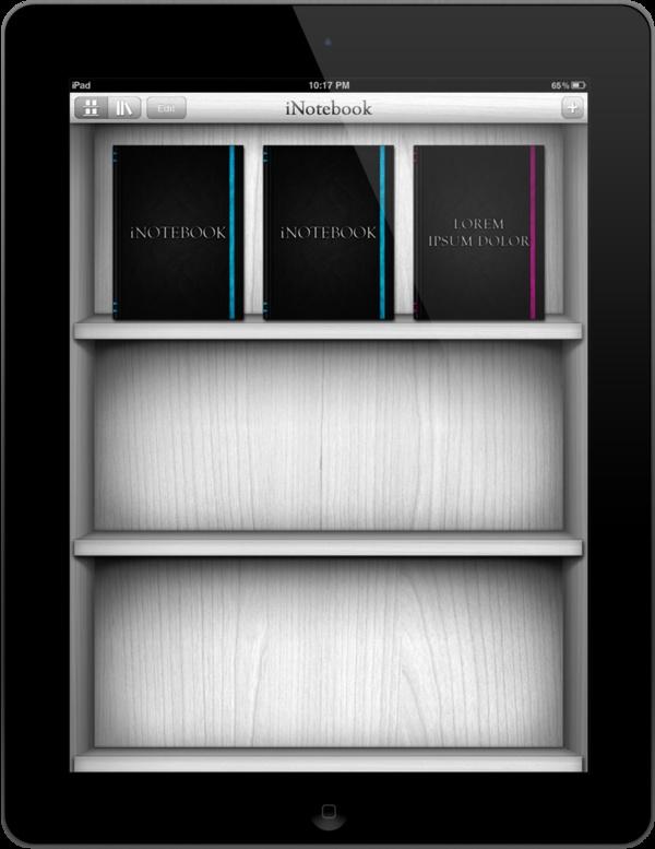 iNotebook by Wah Loon Keng, via Behance