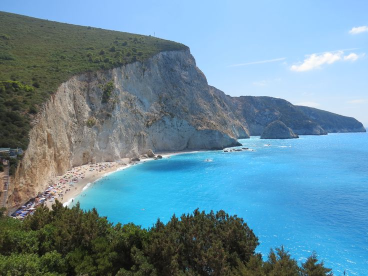 Porto Katsiki beach, Lefkada, Greece. Discover Lefkada from Kathisma Bay Villas at Kathisma beach, Lefkada