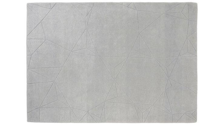 Tapis contemporain tapis blanc icicle tapis pinterest - Tapis contemporain belgique ...