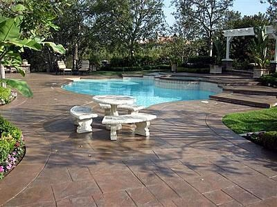 23 best concrete around pool ideas images on pinterest | stained