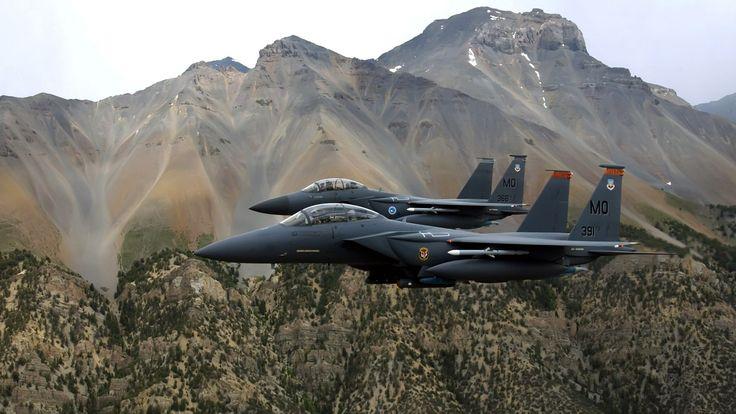 Military craft | File Name : Twin Military Airstrike Craft HD Wallpaper