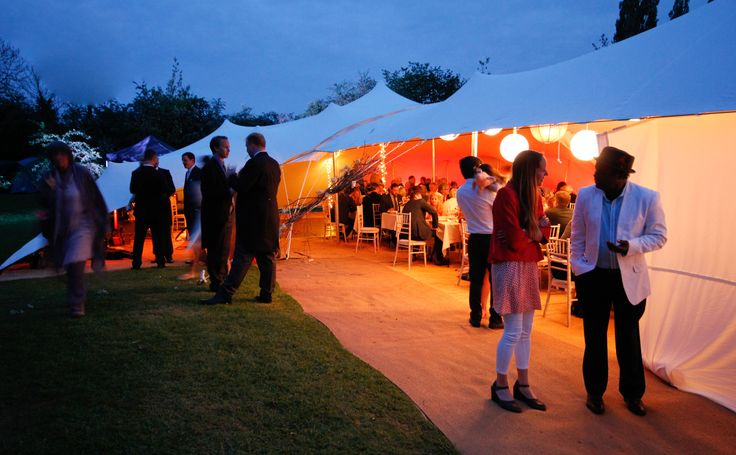A Stretch Tent wedding for 160 in Herefordshire