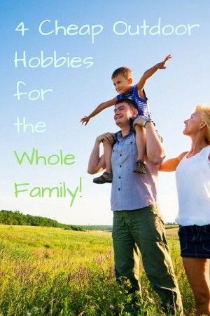 With Spring not far away many of us are looking forward to enjoying some nice weather with the family. This year, though, why not take up a new outdoor hobby as a family so that you can have more outdoor family fun? Here are 4 Cheap Outdoor Hobbies that you might want to try out this year!