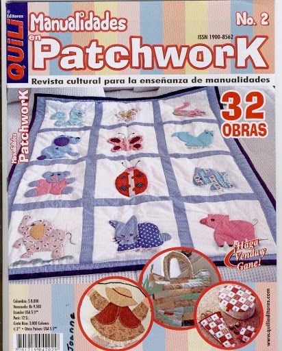 Fabric and Sewing - Many small patchwork projects.