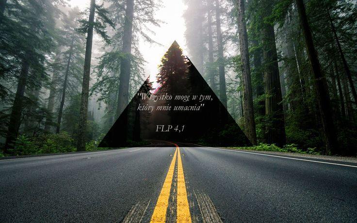 #God #Christian #Bible #Bóg #miłość #cytaty #quotes #wallpaper #tapeta #cytat #Biblia #wiara #religia #tapeta #road #forest