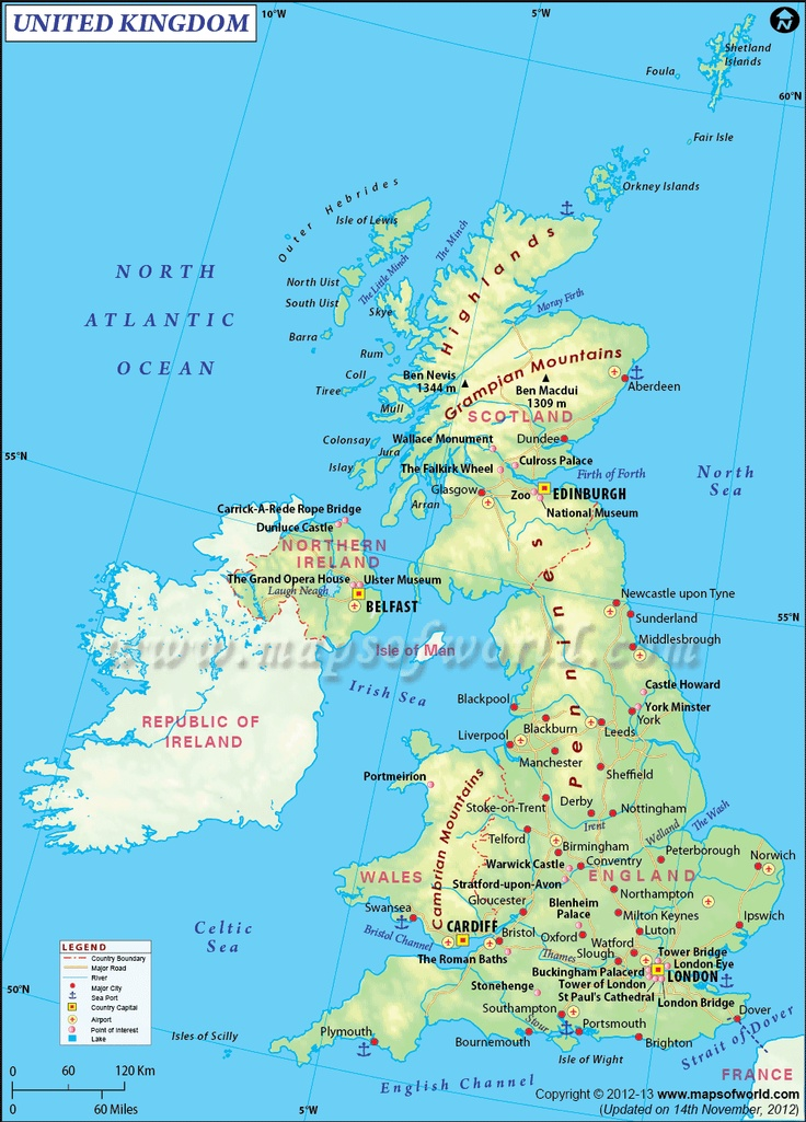 The 25 best United kingdom map ideas on Pinterest  England map