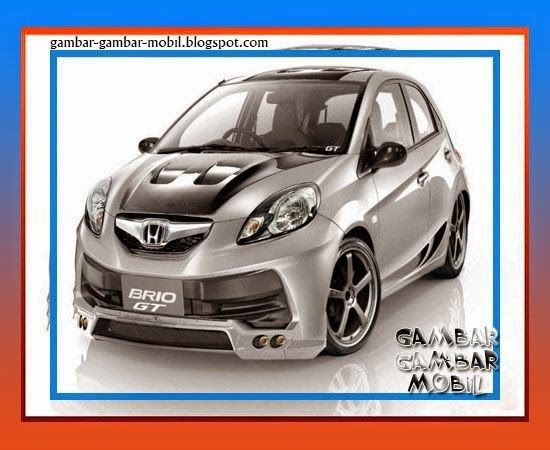 foto modifikasi mobil honda brio