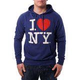 """Ανδρική Μπλούζα Hoodie """"I Love N.Y."""" #www.pinterest.com/brands4all"""