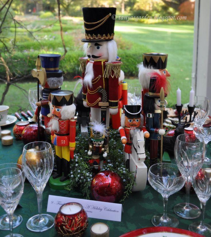 Nutcracker Centerpiece MySecretGarden: Holiday Tables In Beautiful Lakewold  Gardens