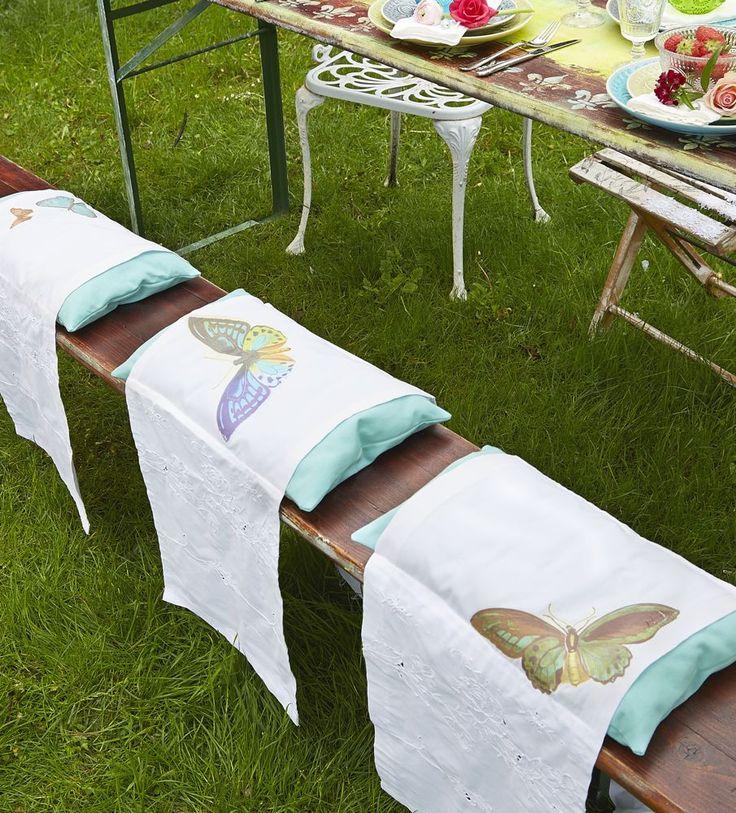 1000 bilder zu shabby charme im garten auf pinterest for Hussen hochzeit