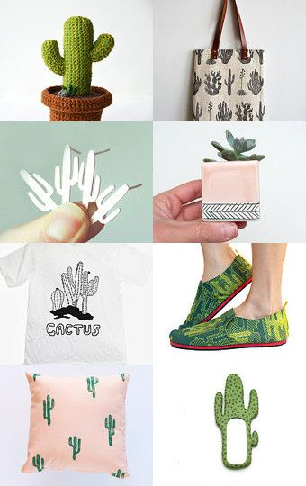Trendy cactus gift ideas by naama brosh on etsy pinned with treasurypin com