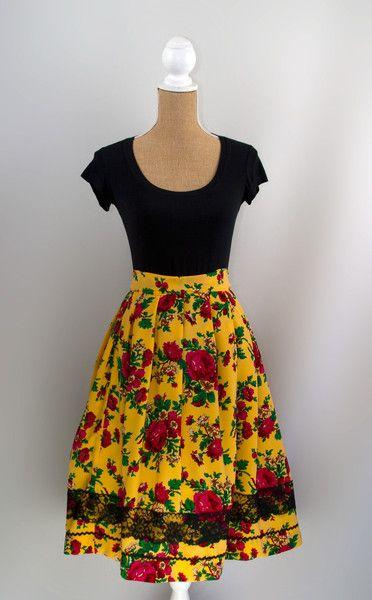 """Paulina Skirt"" Goralski | Recultured Designs | based on Polish folk clothing"