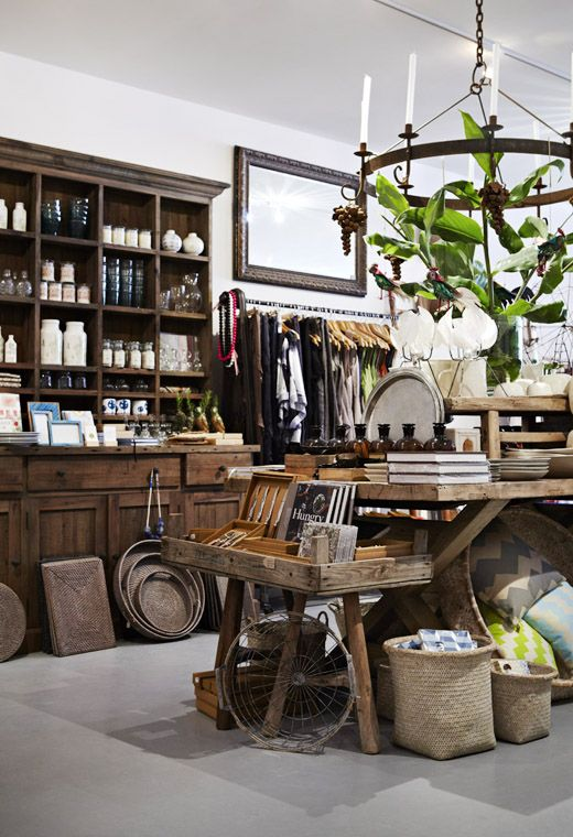 our tasting room would have the BEST retail space stocked with hand crafted artisan items #baskets #interiordesign