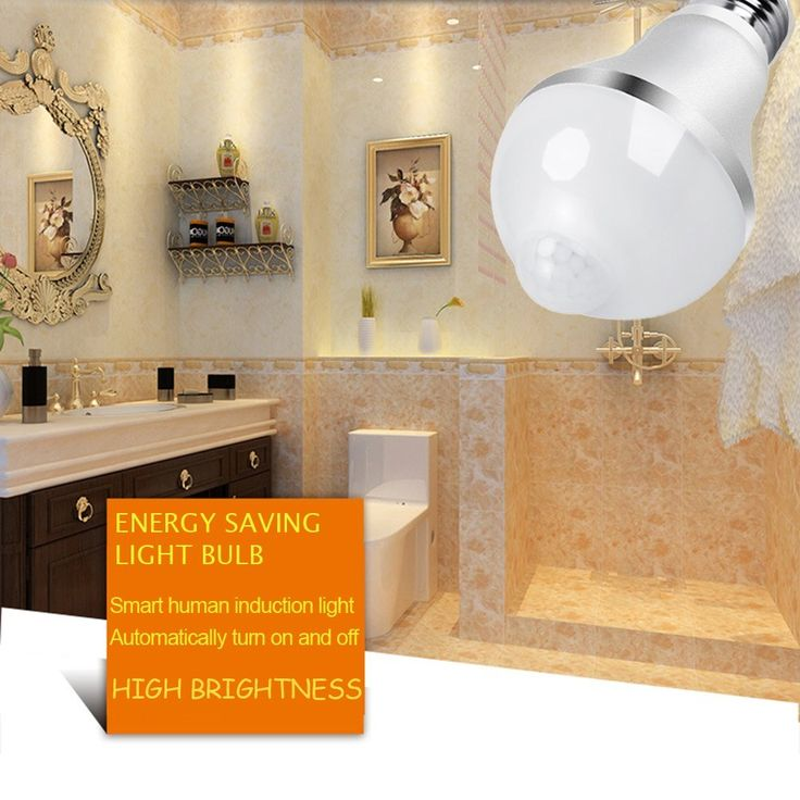 Mejores 15 imgenes de motion sensor light bulb en pinterest aukora 9w motion activated led bulb e26e27 motion sensor light bulb outdoorindoor led dusk to dawn bulbs with motion detector for front door garage aloadofball Image collections