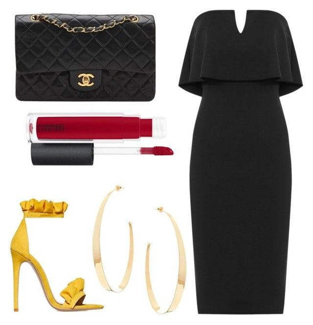"""date"" by geopaganeli on Polyvore featuring Chanel, MAC Cosmetics, Lana and WearAll"