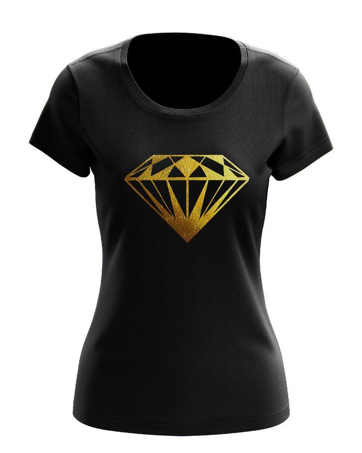 Women's T-shirt, DIAMOND, dámské tričko, DIAMANT