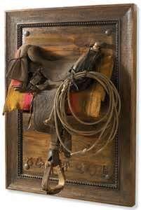 Horse Saddle Framed | 10 Clever Uses for Old Horse Saddles
