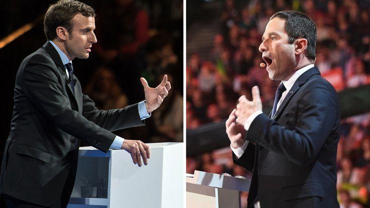 L'édition 2018 du Robert a décidé de faire une place au candidat d'En Marche! à la présidentielle et à celui du PS. Ils rejoignent François Fillon, Marine Le Pen et Jean-Luc Mélenchon.