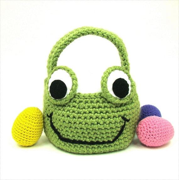 Frog Easter basket!