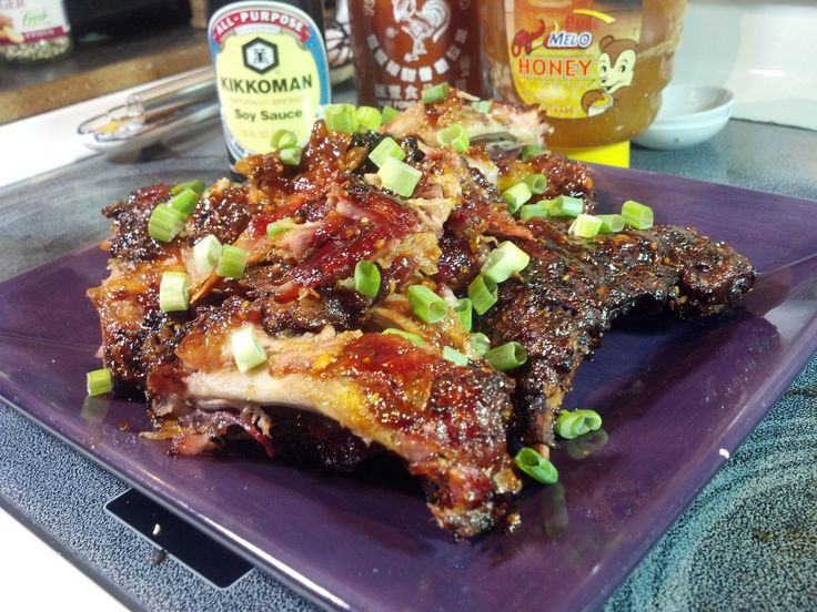 Asian Style Baby Back Ribs