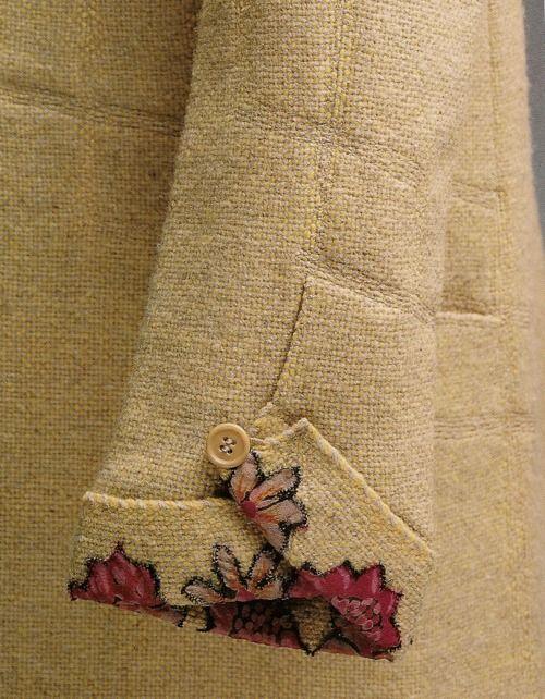 1927 coat by Gabrielle Chanel. Detalhes tão pequenos, mas tão grandiosos...