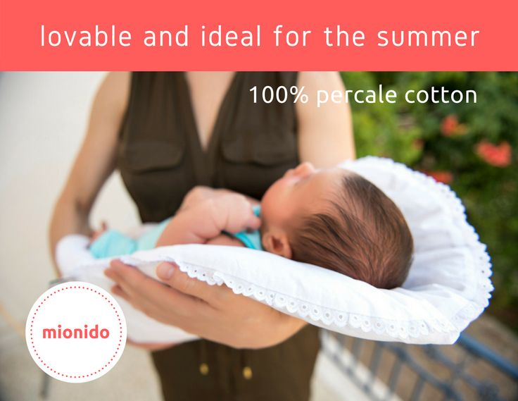 #topponcino with 100% percale cotton cover. Ideal for the summer