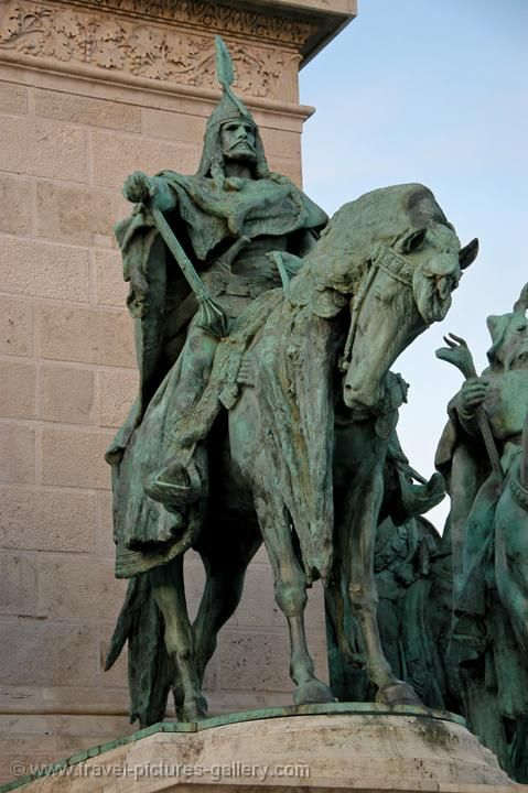 Part II. Attila the Hun (c.403? - 453 AD) He was brought up as a barbarian hostage at the court of the emperor Honorius. Attila knew the Roman world. On several occasions he assaulted the Roman Empire. In 451, Flavius Aetius defeated Attila and the Huns at the   Battle of Chalons. In 453 Attila died from a burst blood vessel; the Hun Empire collapsed.