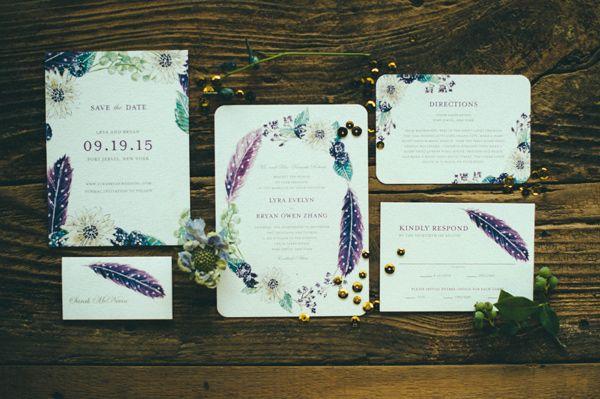 Beautiful Bohemian Wedding Styled Shoot | Wedding Paper Divas Blog