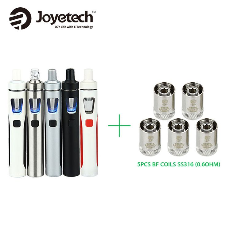 The all-in-one eGo AIO Kit with 1500mAh battery and 2ml e-liquid capacity comes with 7pcs BF SS316 0.6Ohm coils! With its anti-leaking structure and super simple use, it comes with everything you need to get started and it is perfect for beginners and casual vapers!