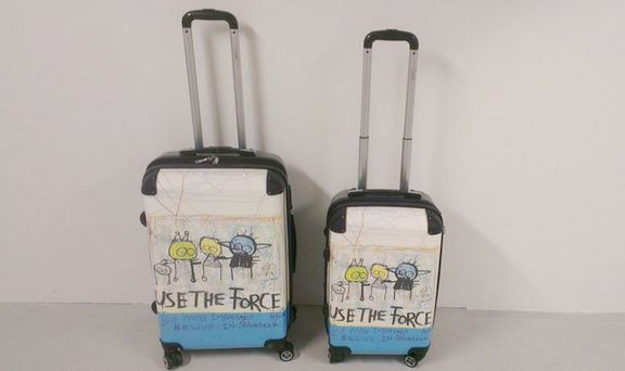 Use the force suitcases (68cm / 56cm)