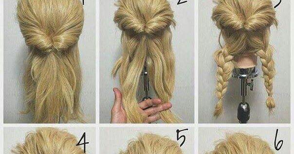 15+ Cara Mengikat Rambut Panjang Mudah dan Simple (Step ...