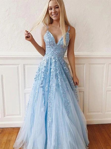 Tulle and Lace Prom Dresses Formal Dresses Wedding Party Dresses LPD38 – LaRovias