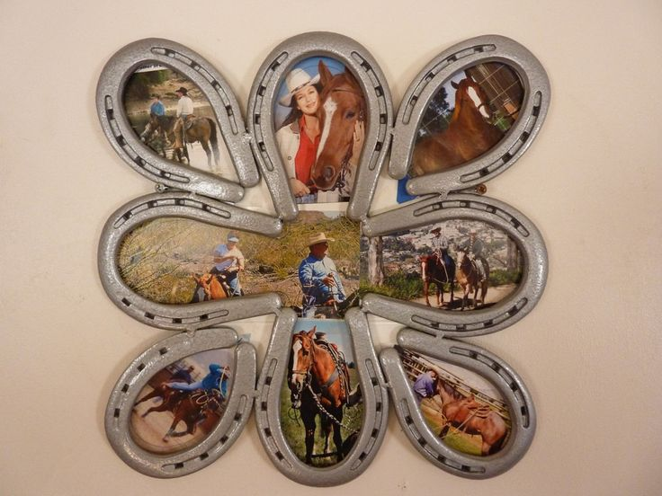 Fun picture frame crafts pinterest horse shoes for Horseshoe project ideas