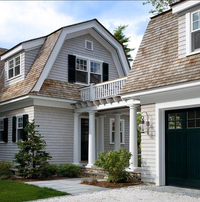 Do you need to add a garage? Check your options beforehand.  #Shingle Architetcure Shingle #Garage Ideas