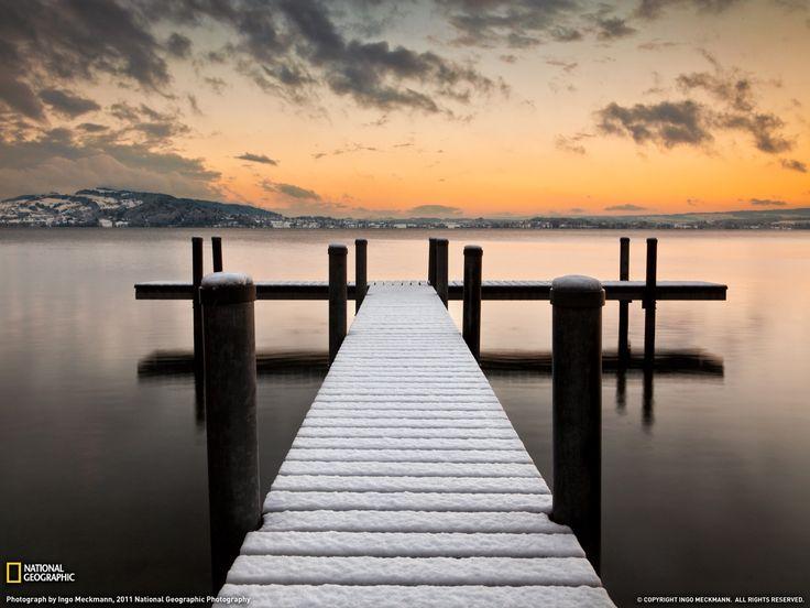 Lake Zug, Switzerland Fotografia di Ingo Meckmann