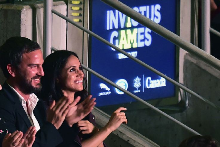 Details of presence of actress, the prince's girlfriend, at Invictus Games opening ceremony set tongues wagging.