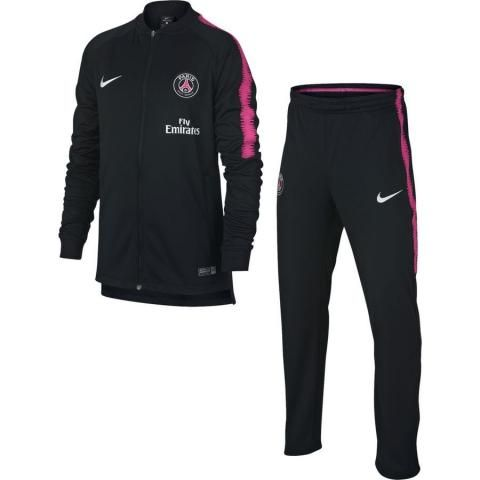 2c602aca8176c Nike Paris Saint Germain Dry Squad Trainingspak 2018-2019 Black Hyper Pink