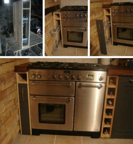 Kuchynský nábytok z paliet 012