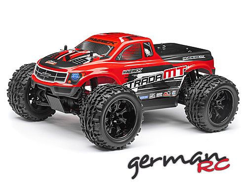 Maverick Strada MT RED Bezszczotkowy 1/10 RTR Model Monster Truck