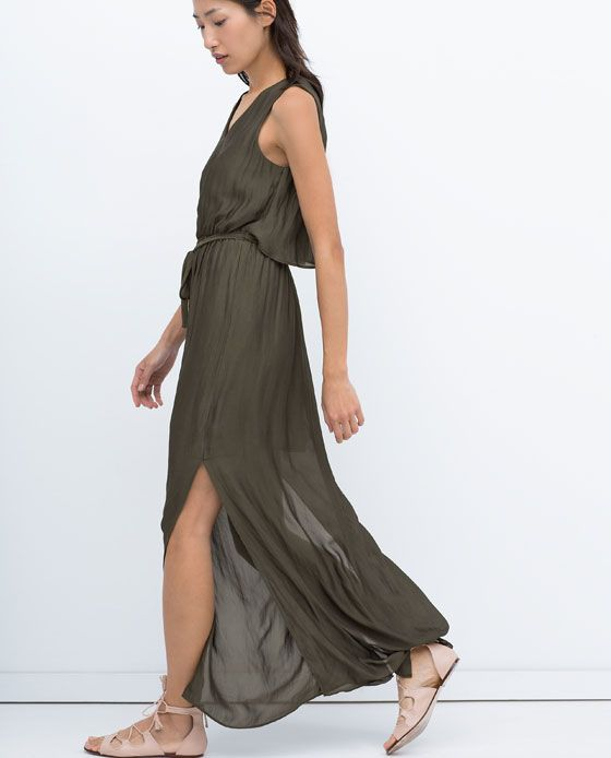 Image 5 of LONG LAYER DRESS from Zara