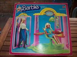 il salone di bellezza mattel anni 70