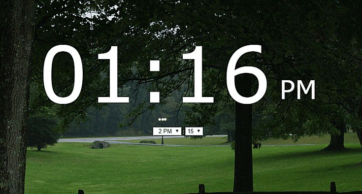 Wake Up to These 6 Free Online Alarm Clocks: Onlive Clock